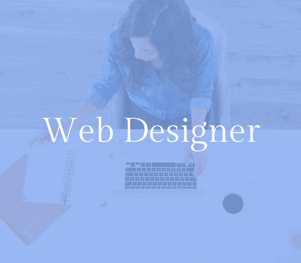 Web designer: work from home mom job idea 1