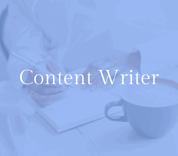 Content or blog writer: stay at home mom job 2